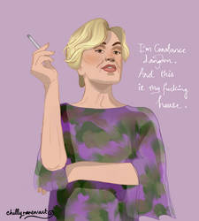 Constance Langdon by chillyravenart