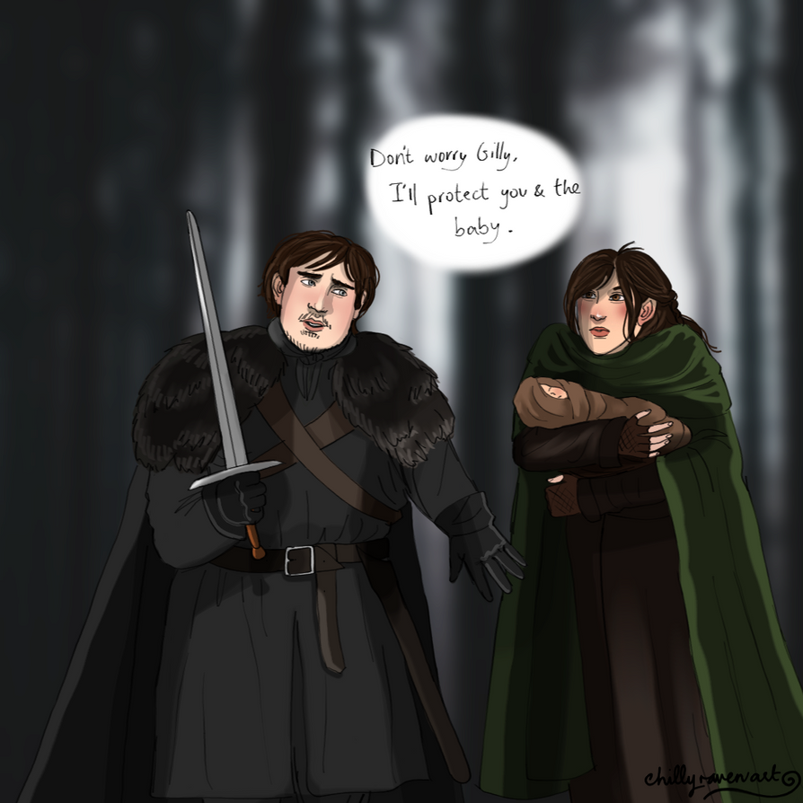 Sam and Gilly by chillyravenart