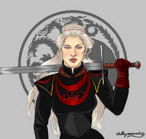 Visenya Targaryen by chillyravenart