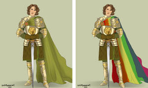 Ser Loras Tyrell - Commission