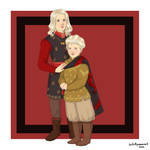 Children of the Dance: Aegon III and Viserys II