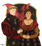 King Daeron II and Myriah Martell