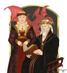 King Aerys I and Queen Aelinor