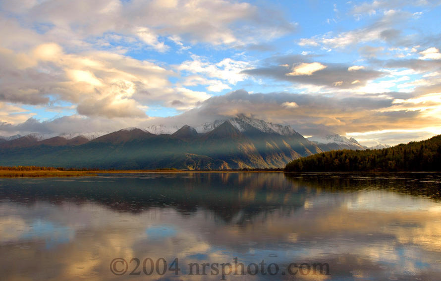Clouds Over Pioneer Peak by anonymous66