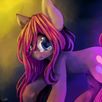 Sad Pinkie by IPonyLover