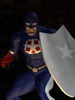 Masked Patriot by ProphetX