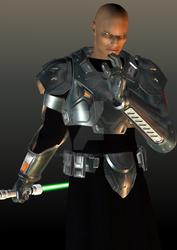 Male Grey Jedi