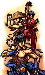 Bushido-fighter by Suburban-Samurai