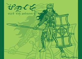 Pintado warrior by WylzGutierrez