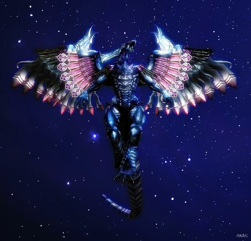 Bahamut first render by Madec-Brice