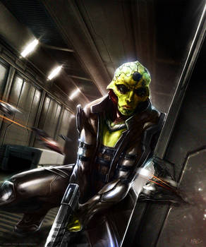 Mass Effect - Thane Krios