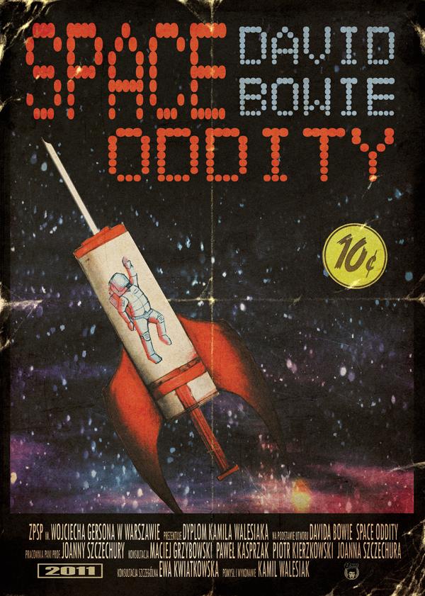 David Bowie's Space Oddity by StuntmanKamil