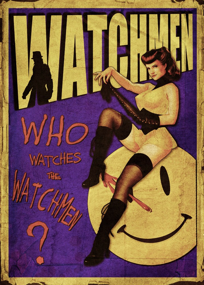 Watchmen POSTER by StuntmanKamil
