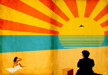Barton Fink beach by StuntmanKamil