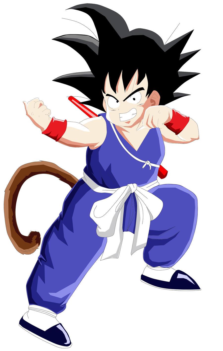 Kid Goku Rock Paper Scissors