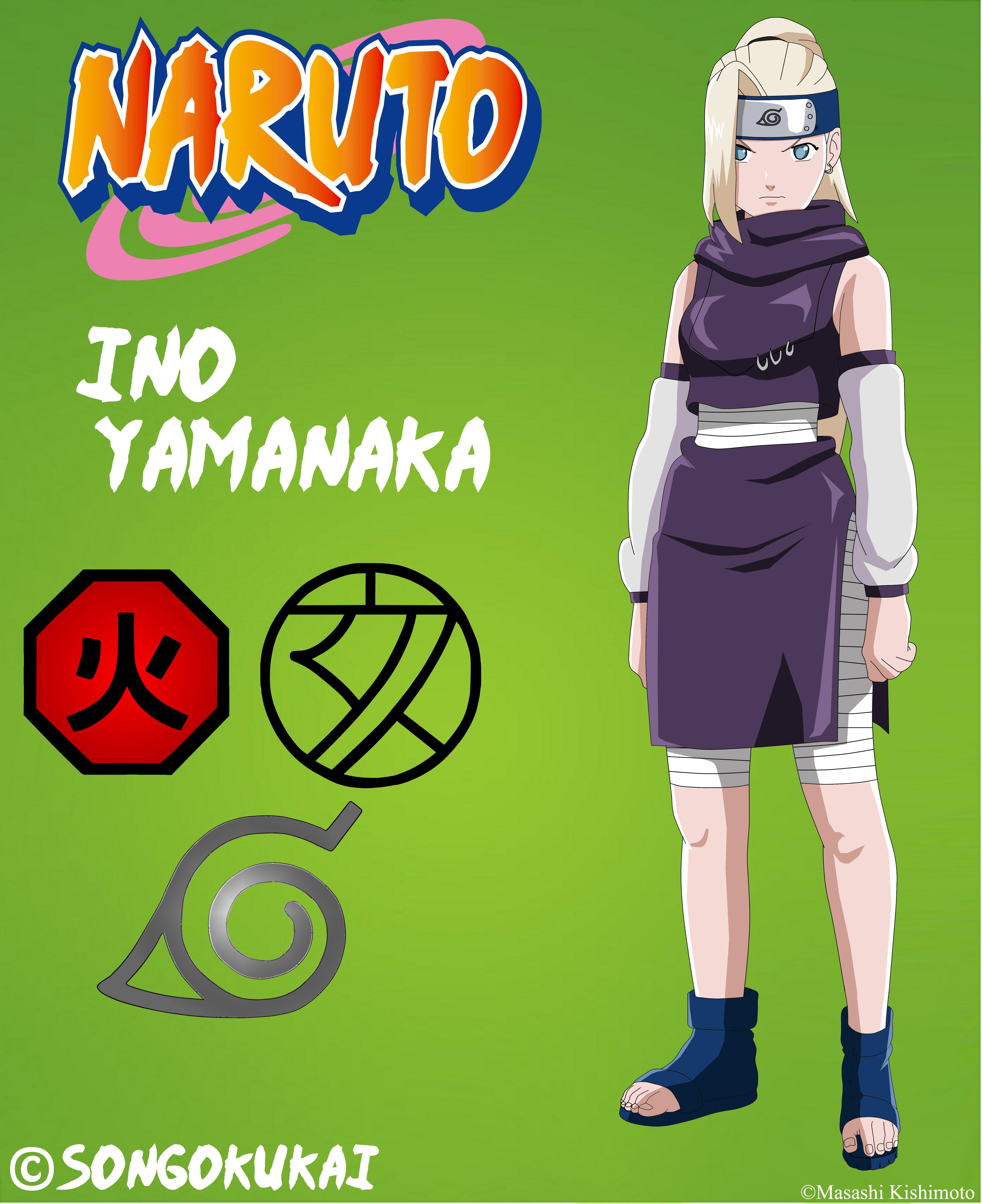 Yamanaka Ino By Rice Su On Deviantart: Ino Yamanaka -PTS- 2 By Krizeii On DeviantArt