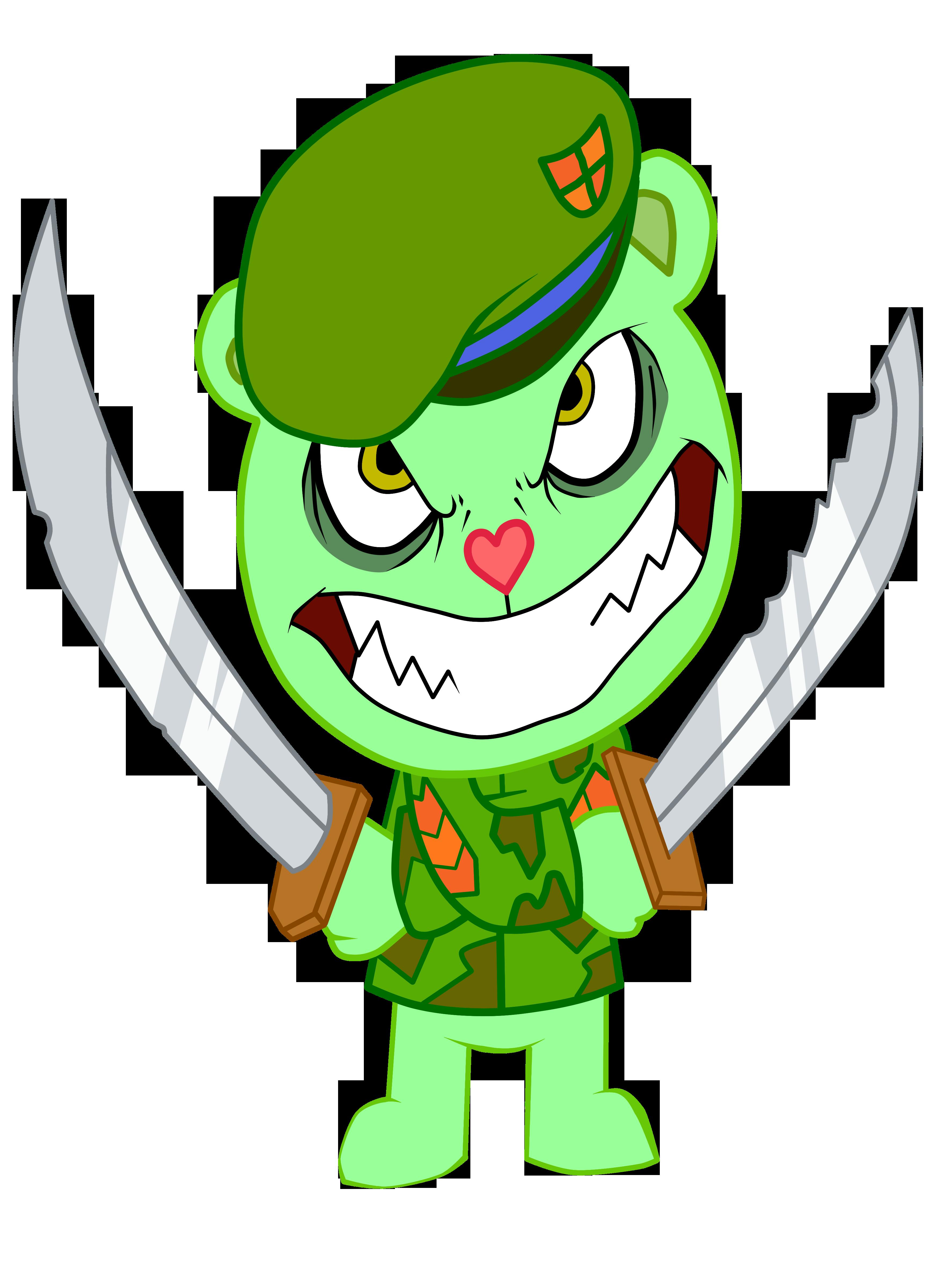 Flippy evil =Fliqpy= by Krizeii on DeviantArt