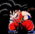 Dragon Ball - kid Goku 3 - Lineartcolor