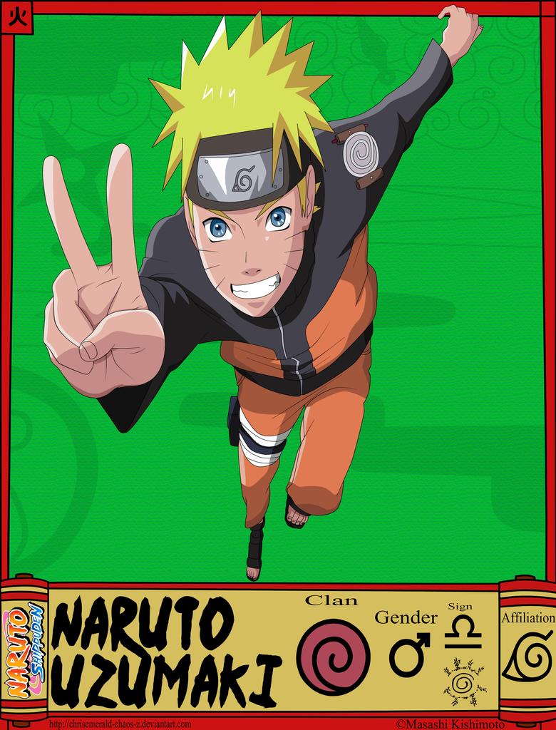 Naruto Uzumaki -STS- by Krizeii
