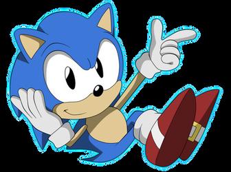 Classic Sonic by Krizart-DA