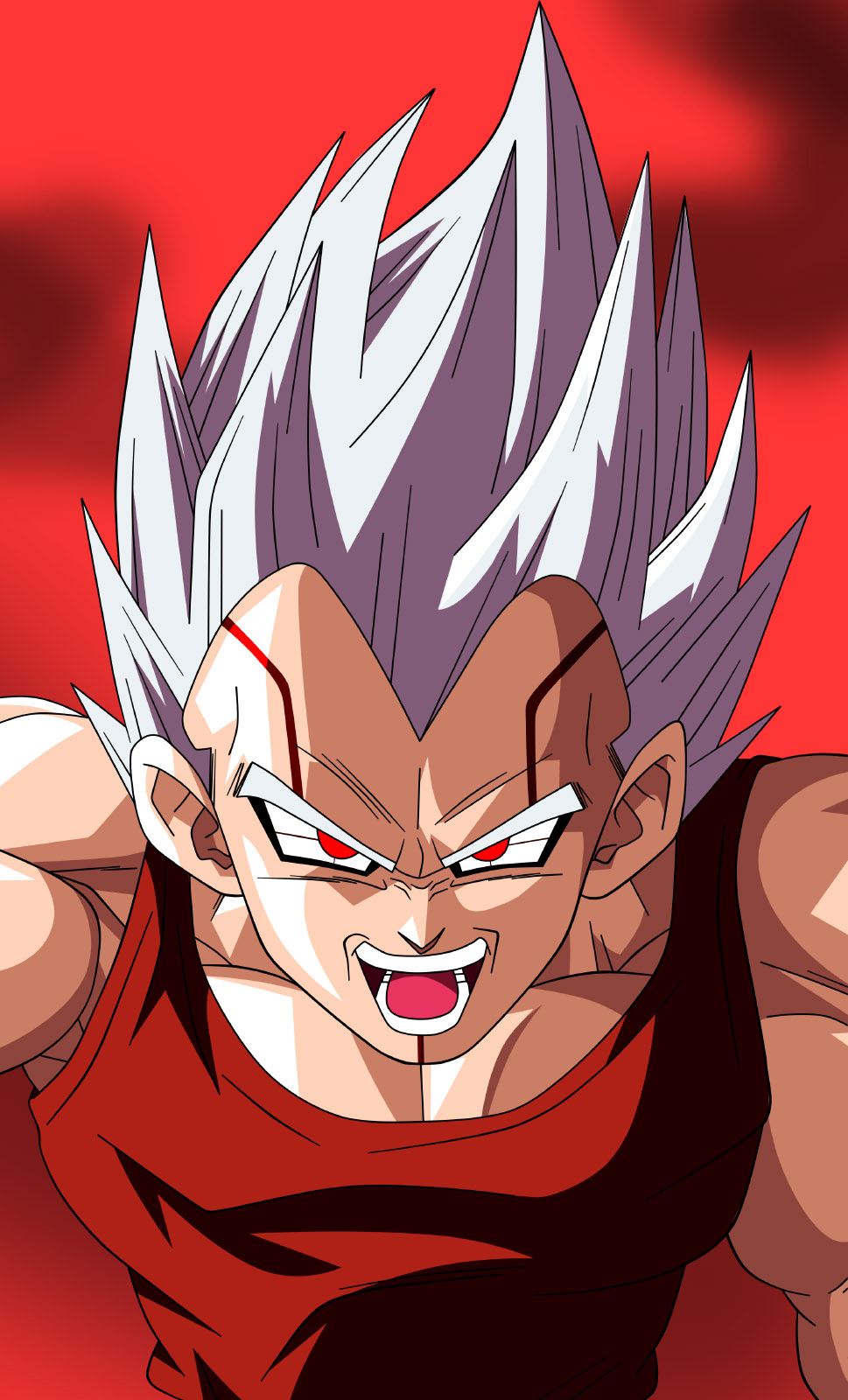 DBNGT Baby Vegeta SSJ By krizeii On DeviantART