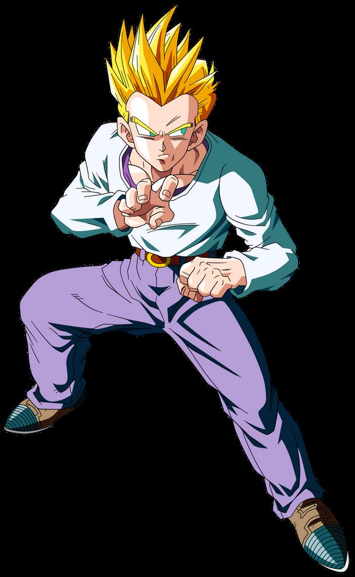 Dragon Ball GT =Son Goten ssj= by Krizeii