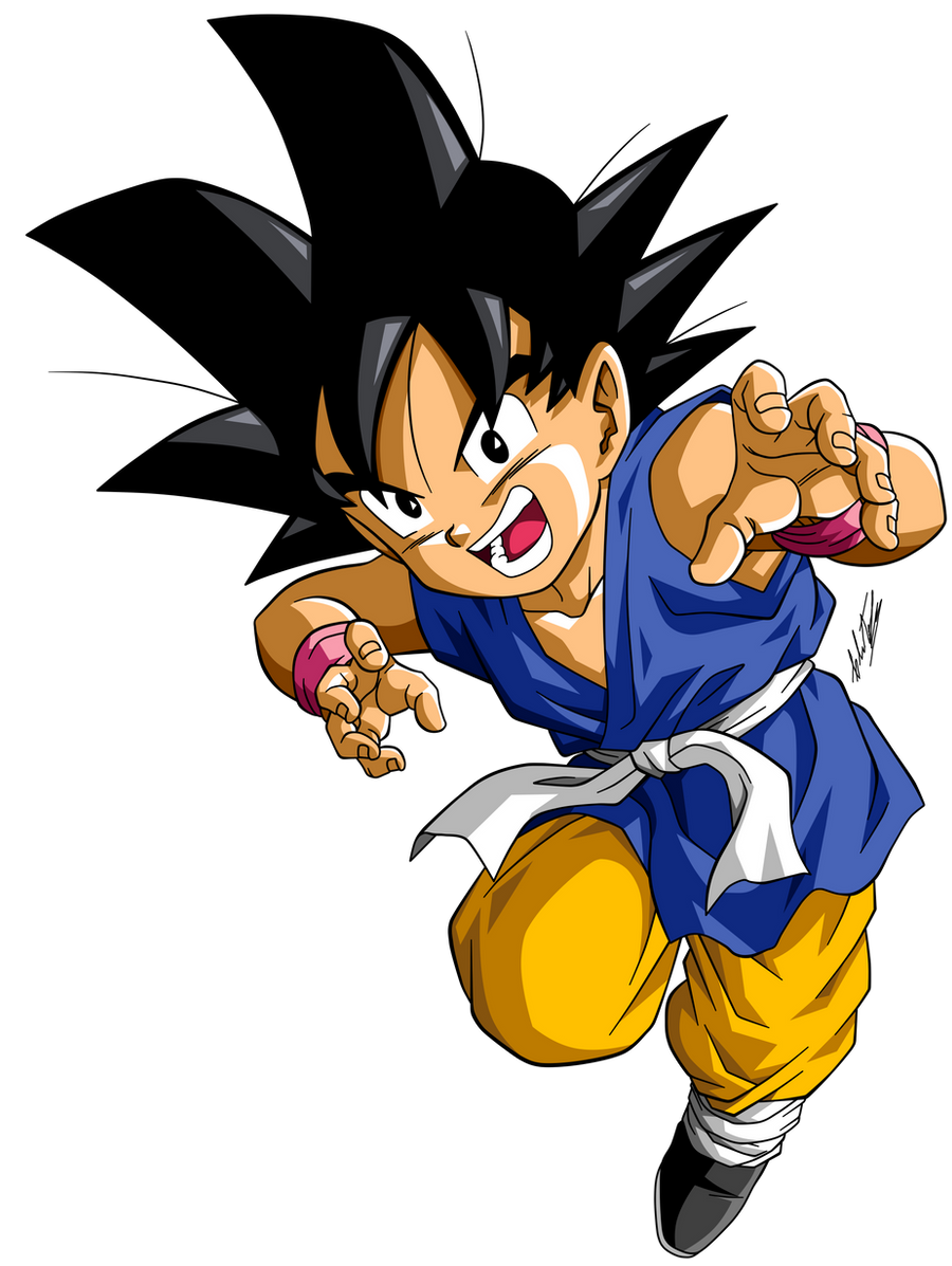 Dragon ball gt son goku by krizeii on deviantart - Dragon ball z goku son ...
