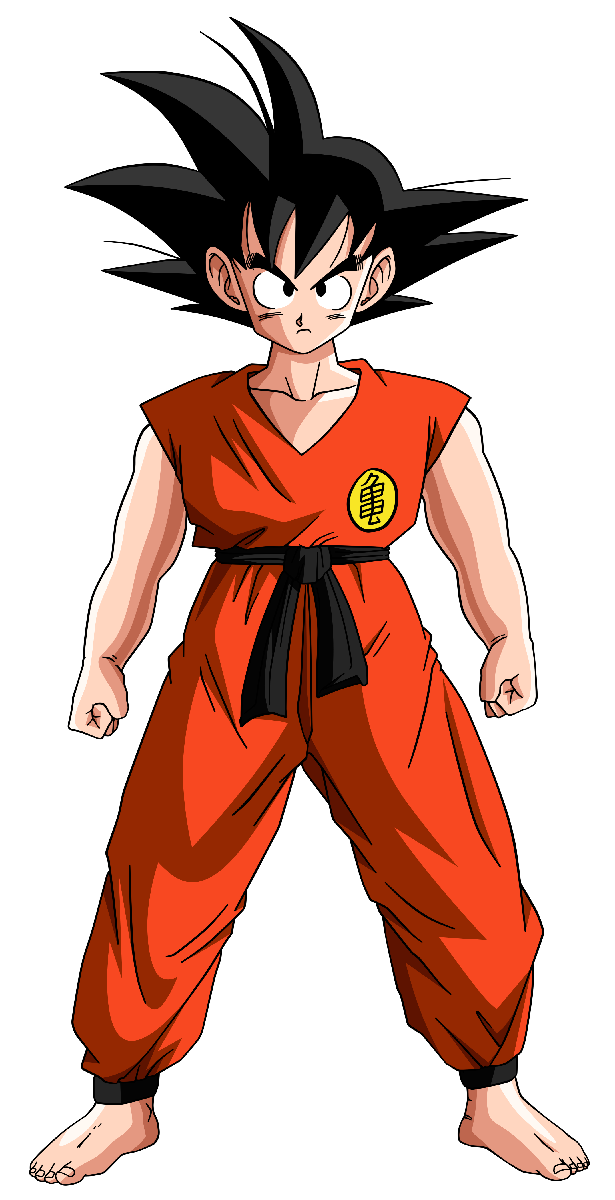 Dragon Ball  =Son Goku -teen- by Krizeii