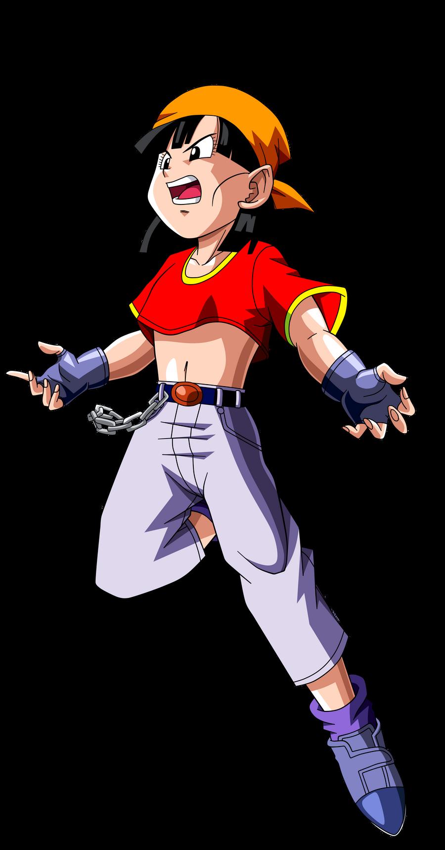 Dragon Ball GT =Pan v.10= by Krizeii