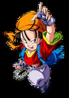 Dragon Ball GT =Pan v.11= by Krizart-DA