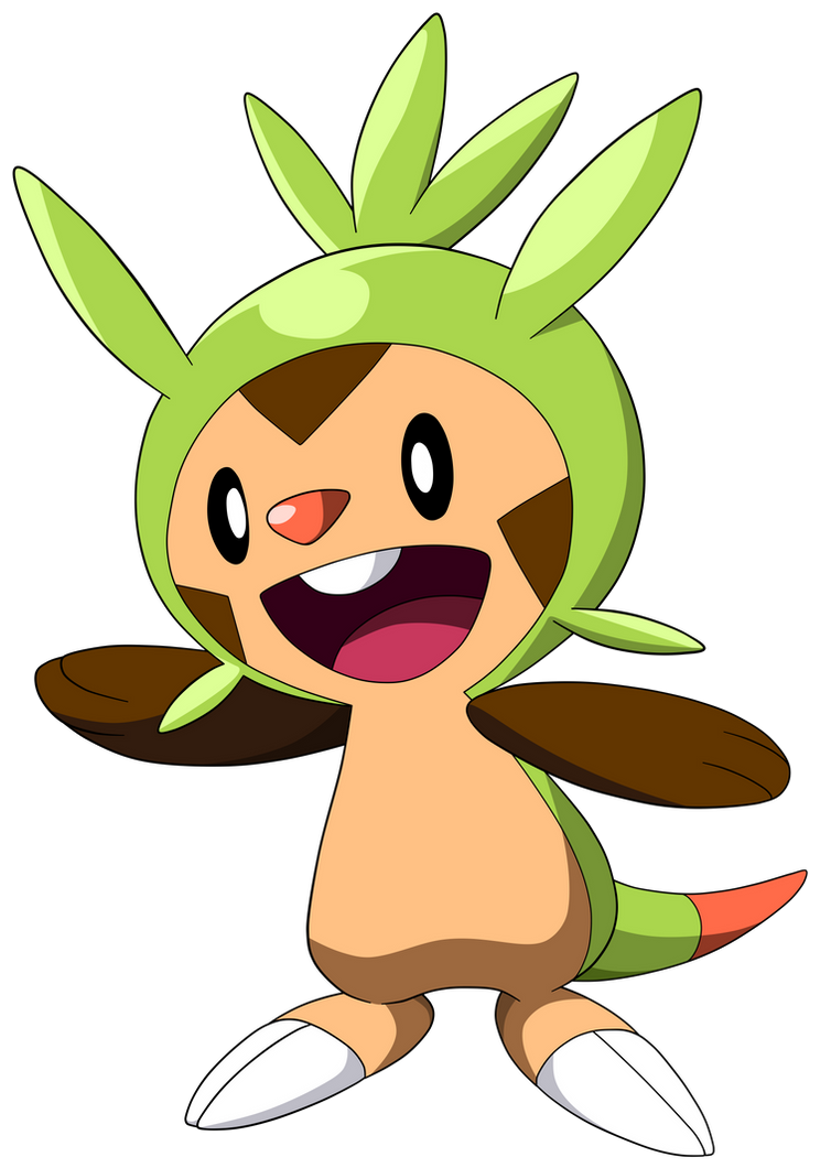 Pokemon X And Y Chespin Evolution Pokemon X and Y -Chesp...