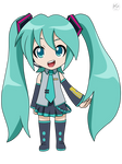 Miku Hatsune -chibi