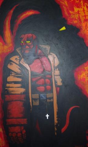 Hellboy by AspenTurner