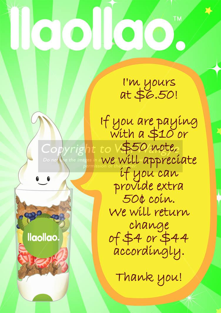 Iiao Iiao cashier poster by VanWangye