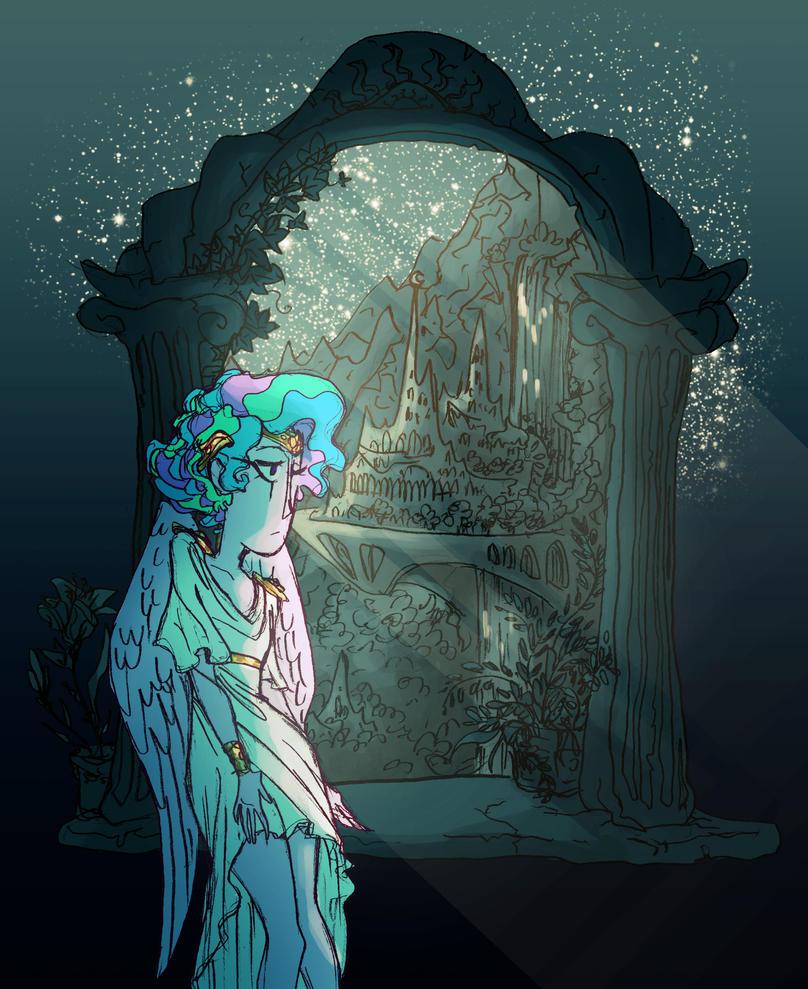 Celestia by Eliotchan
