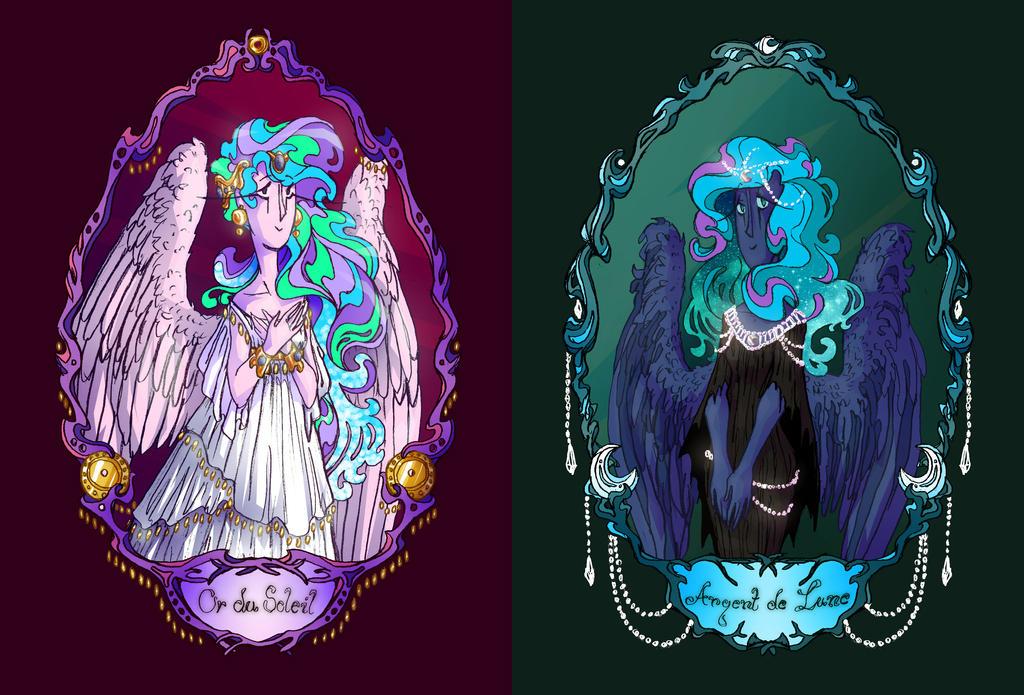 Or Du Soleil et Argent De Lune by Eliotchan