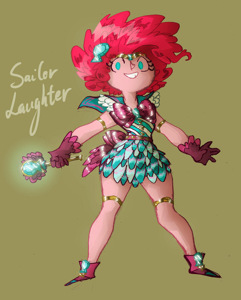 Bishoujo Senshi Sailor Laughter by Eliotchan