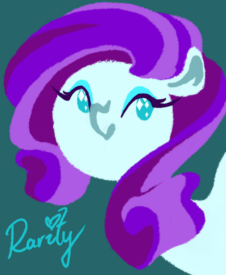 Just Rarity by Eliotchan
