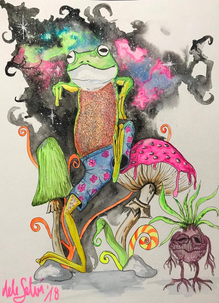 Funny Frog by NeleSelvi