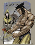 Wovie and Lady Deathstrike - BudlongDesign