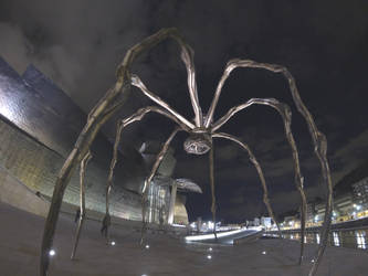 Spider by Townpainter