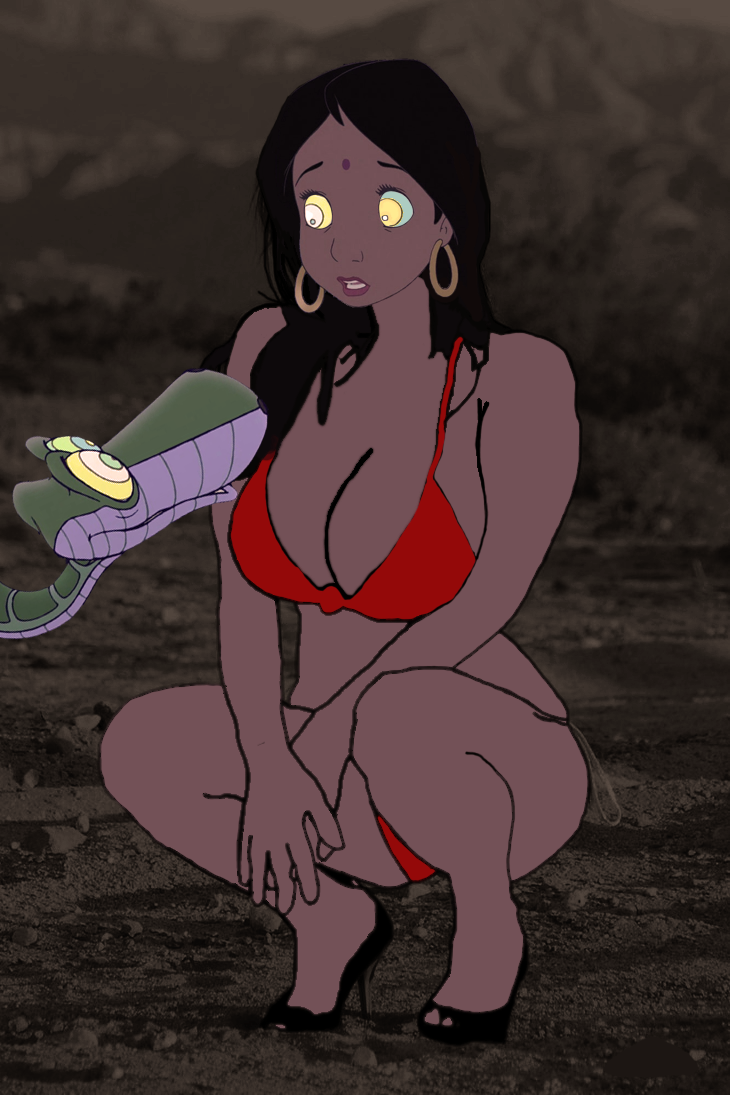 Shanti hypnotized by Kaa 4 by Swedishhero94 on DeviantArt