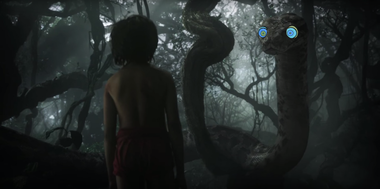 Mowgli and Kaa 2016 by Swedishhero94
