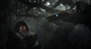 Mowgli and Kaazilla