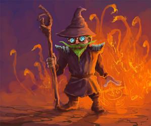 Pyromaniac by GnomeSchool