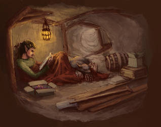 Dwarfy Elf by GnomeSchool