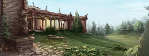 Park Abbey by GnomeSchool