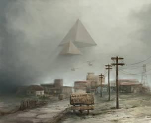 Pyramids over Night Vale by GnomeSchool