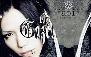 The GazettE Aoi by uchiharuki