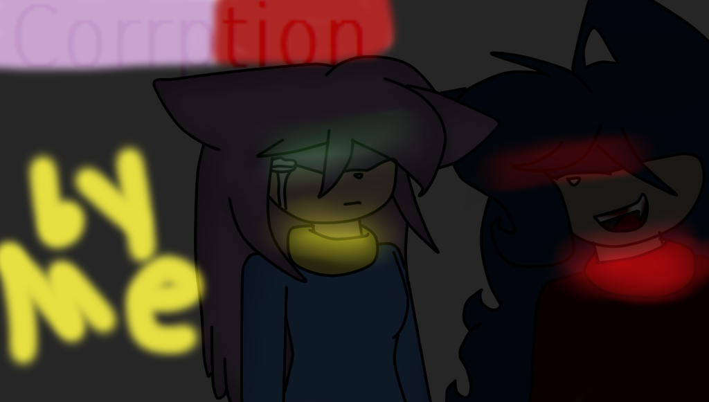 Corruption# cover page by dinahthefluffyfoxx